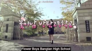 [INDO SUB] BTS Mini Drama Flower Boys Bangtan High School (Star Show 360)