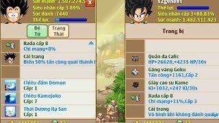 Ngọc Rồng Online | Thủ Thuật Mở Skill 3 Cho Đệ Tử ra THÁI DƯƠNG HẠ SAN | NHẬT LẺ CHÍN √