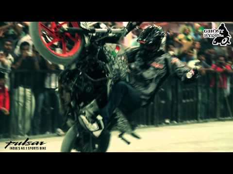 Ghost Ryderz stunt show @ Times Auto Show Bengaluru