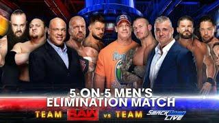 WWE-Team Raw vs Team SD Live - Survivor Series 2017 Highlights