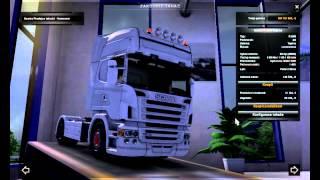 getlinkyoutube.com-Euro Euro Truck Simulator 2 Scania R 2008 Topline + Interier