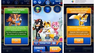 getlinkyoutube.com-Sonic Dash 2 Sonic Boom - Sticks * Knuckles * Amy * Tails * Shadow * Who is the Best?