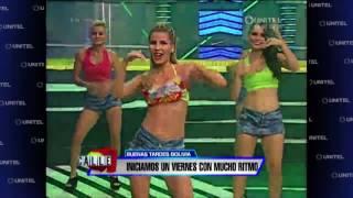 getlinkyoutube.com-Las gladiadoras de Calle 7 disfrutaron del baile axe