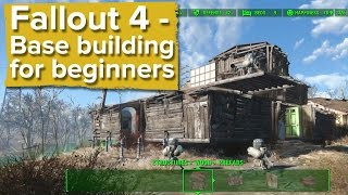 getlinkyoutube.com-Fallout 4 - Base building for beginners (new gameplay)