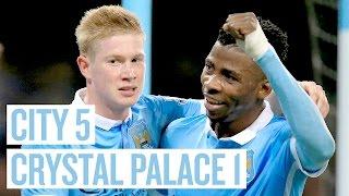getlinkyoutube.com-QUARTERS AWAIT | City 5-1 Palace | Highlights