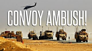 getlinkyoutube.com-ARMED CONVOY AMBUSH! - ArmA 3