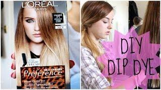 getlinkyoutube.com-HOW TO: DIY NATURAL HAIR DIP DYE OMBRE | Grace Bruce