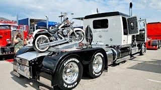 getlinkyoutube.com-Custom Big Rigs, Trucks, Custom Bikes & Beautiful Babes