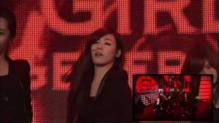getlinkyoutube.com-100502 SNSD - Run Devil Run @ The M Wave [Tiffany Shot]