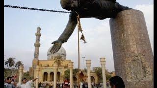 getlinkyoutube.com-الساعة الأولى لسقوط بغداد وانهيار كيان صدام حسين 2003