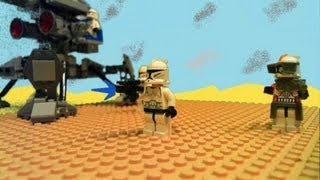 getlinkyoutube.com-Clone Revelation Pt 1 (Lego Star Wars) the Battle of Geonosis