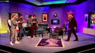 One Direction Dance Battle on Alan Carr Full