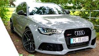 getlinkyoutube.com-NEU: Testbericht Audi RS6 Avant [2013] - Road Test Drive Video Review - EngineReport