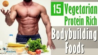 getlinkyoutube.com-15 vegetarian protein rich foods for vegan bodybuilding | Hindi | Fitness Rockers