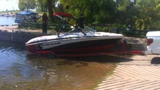 getlinkyoutube.com-First boat launch of the new boat!!!