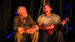 getlinkyoutube.com-THE ROCK SINGING - WHAT A WONDERFUL WORLD IN JOURNEY 2 THE MYSTERIOUS ISLAND -720p BluRay