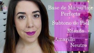 getlinkyoutube.com-Base de Maquillaje Perfecta: Subtono de Piel | ¿Cómo saber tu tono de piel?