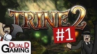 getlinkyoutube.com-DualD Gaming Spelar - Trine 2 Co-Op - Avsnitt 1