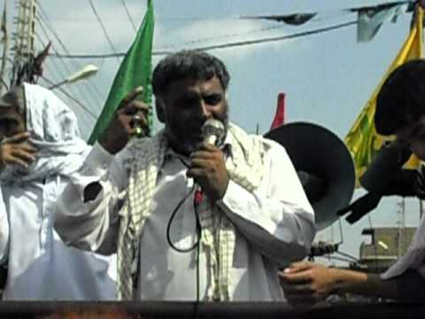 2010 youm al quds rally in matli by Asgharia Organization Pakistan 4