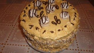 getlinkyoutube.com-Киевский торт с шоколадным безе-(goodcook)