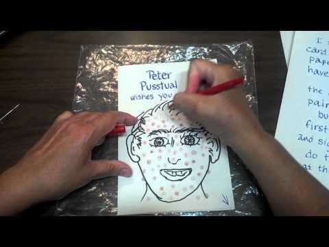 HUGE Zits for your popping pleasure! Make a get well card=here's how!