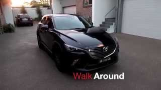 getlinkyoutube.com-Mazda cx3 walk around and start up