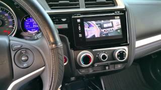 getlinkyoutube.com-2015 Honda Fit EX: HDMI Mirroring While Driving Safety Override