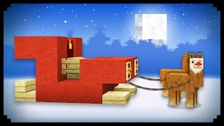 getlinkyoutube.com-✔ Minecraft: How to make Santa's Sleigh