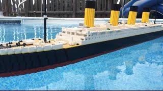 Floating LEGO Titanic Model 【7 foot model】