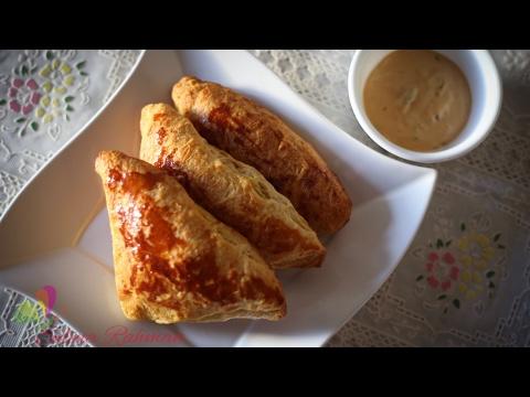 চিকেন পেটিস || Chicken Patties || Chicken Puff Pastry || R# 115