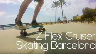 getlinkyoutube.com-GoPro: skate z flex mini cruiser Jimmy Plumer Barcelona