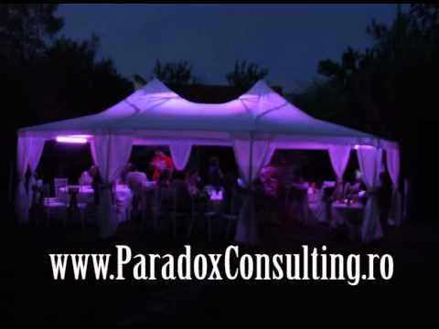 lumina arhitecturala sala Timisoara www.ParadoxConsulting.ro gobo monograme logo nunta