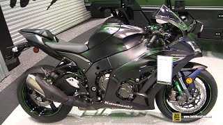 2016 Kawasaki Ninja ZX10R - Walkaround - Debut at 2015 AIMExpo Orlando