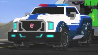 getlinkyoutube.com-Transformers Robots in Disguise Sideswipe's Best Time and Vertebreak Attacks