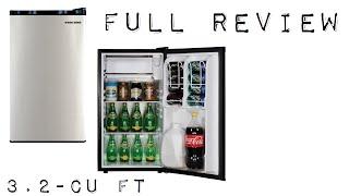 Black & Decker 3.2-cu ft Mini Fridge w/ Freezer (BCF32V) Review