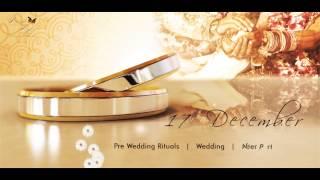 wedding invitation video, video invitation - classy marriage invitation video