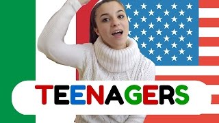 getlinkyoutube.com-America vs Italy - Teenagers || GINEVRA IORIO
