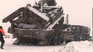 getlinkyoutube.com-Шляхопрокладач БАТ-2 розчищує дорогу від снігу