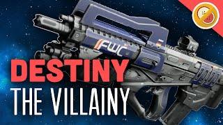 getlinkyoutube.com-DESTINY The Villainy Fully Upgraded Legendary Pulse Rifle Review (The Taken King)