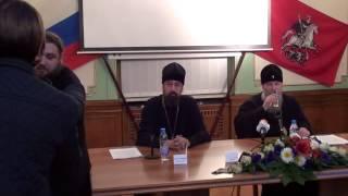 Ответы на вопросы журналистов митрополита Кирилла