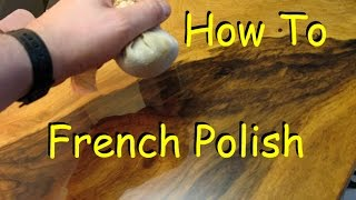 getlinkyoutube.com-How to French Polish - Woodworking Finish with Shellac