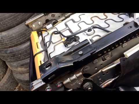 Как снять обшивку сидений Mitsubishi Lancer X 2.0