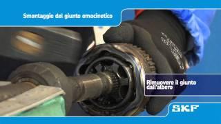 SKF - Montaggio di un nuovo giunto omocinetico VKJA 5342 Renault Laguna