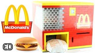 getlinkyoutube.com-Lego McDonald's Cheeseburger Machine