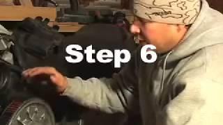 getlinkyoutube.com-snowmobile belt change tip