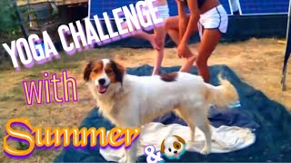 getlinkyoutube.com-YOGA CHALLENGE WITH SUMMER 2015