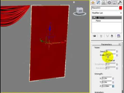 Creating Curtain in 3ds Max [The second waY]