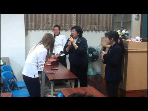 越南新住民學習華語結班天倫道場2013,12,22
