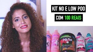 getlinkyoutube.com-Kit Completo No/Low Poo com 100 reais | Mari Morena