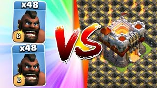 getlinkyoutube.com-Clash Of Clans - 96 HOGS TOTAL vs TH11!! - INSANE TOWN HALL 11 ATTACK STRATEGY!